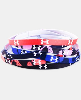 Women's UA Graphic Mini Headbands – 6-Pack   $11.24