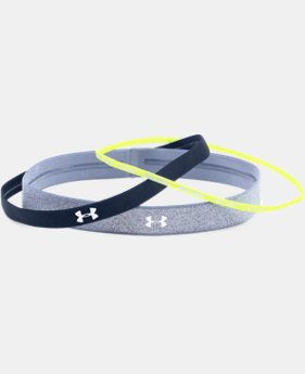 Women's UA Shimmer Headbands - 3 Pack