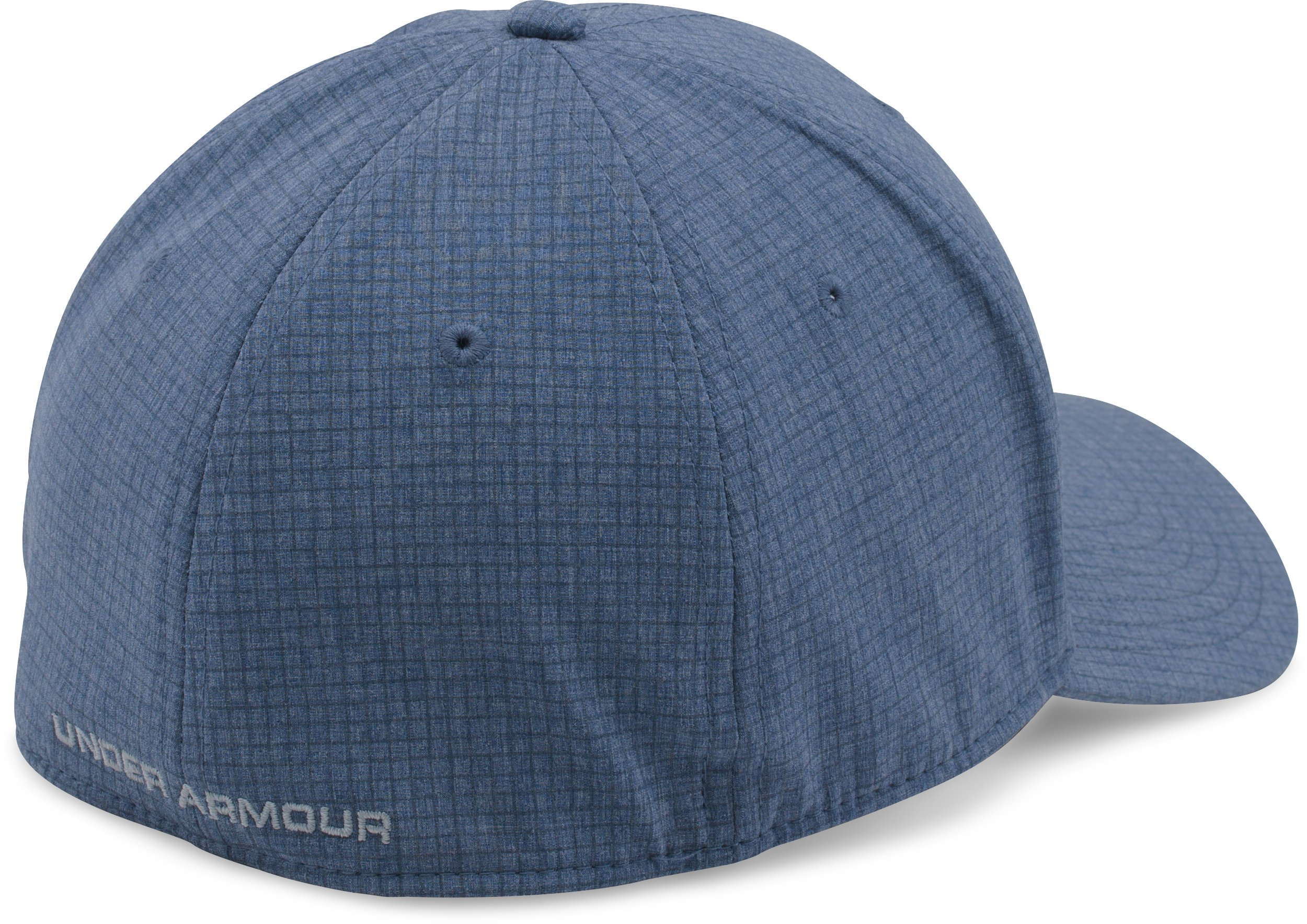 Men's UA Tonal Chambray Low Crown Cap , Midnight Navy, undefined