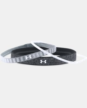 Girls' UA Shimmer Headbands - 3 Pack LIMITED TIME: FREE U.S. SHIPPING 1 Color $11.99