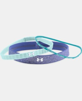 New Arrival Girls' UA Shimmer Headbands - 3 Pack   $11.99