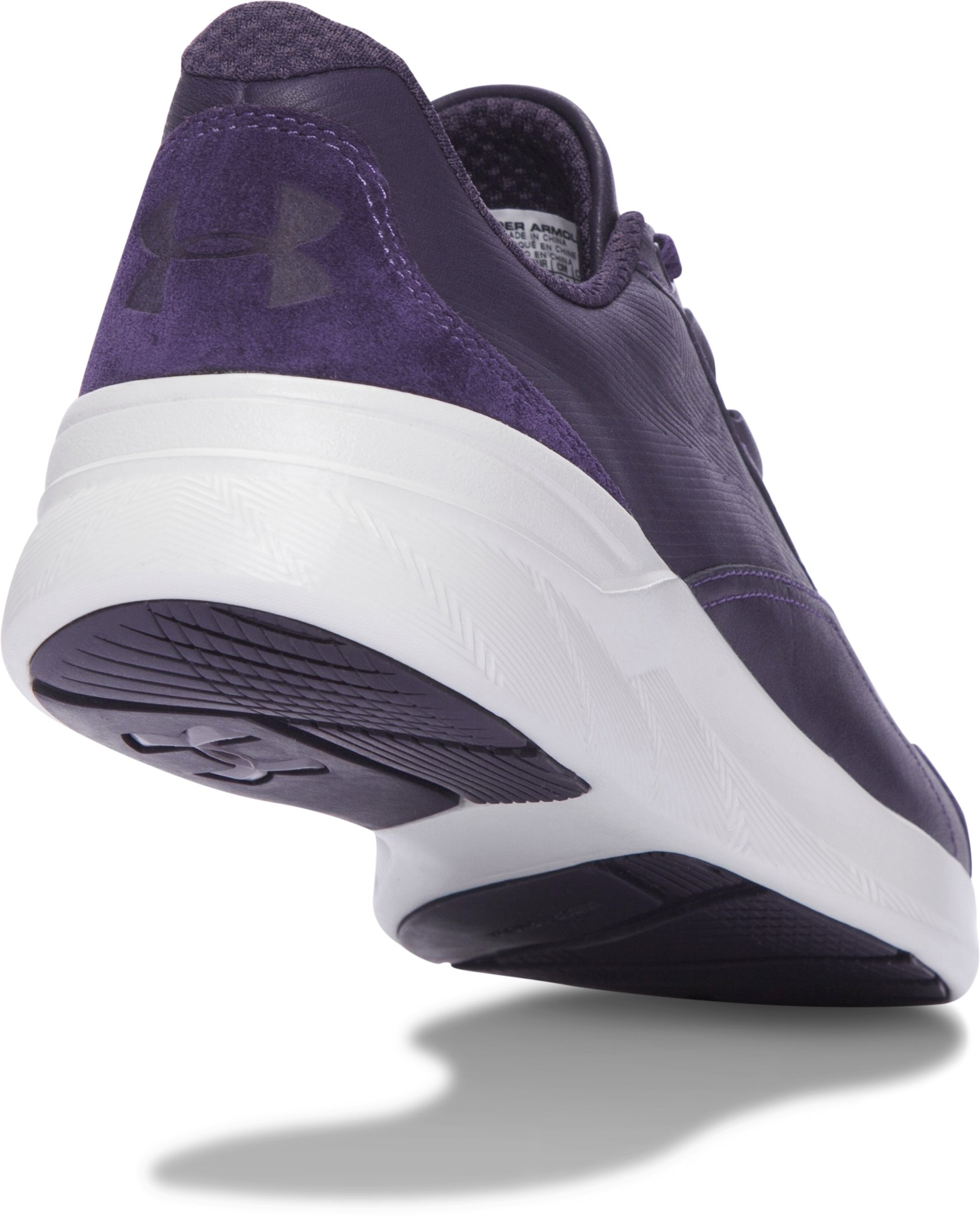 Women's UA Charged Pivot Low Tinted Neutrals Lifestyle Shoes, IMPERIAL PURPLE, undefined