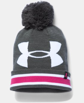 Women's UA Power In Pink® Pom Beanie