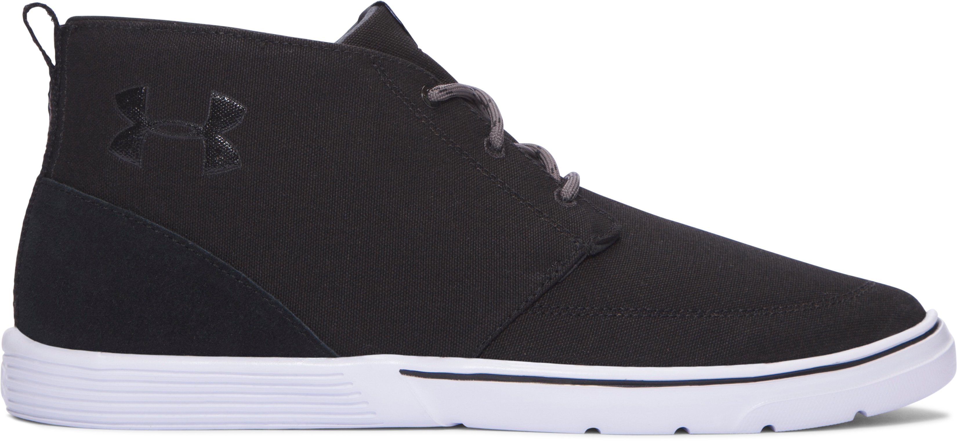 Men's UA Street Encounter Mid Shoes, Black , undefined