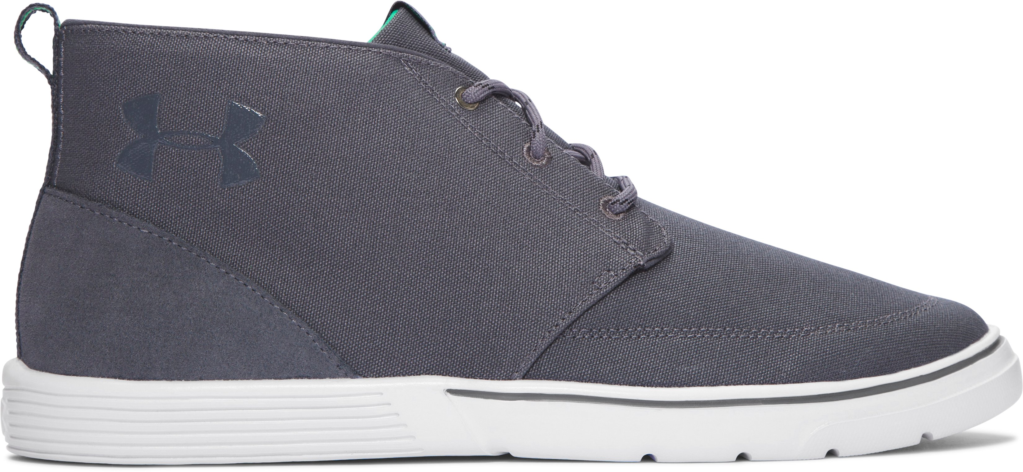 Men's UA Street Encounter Mid Shoes, GRAY WOLF