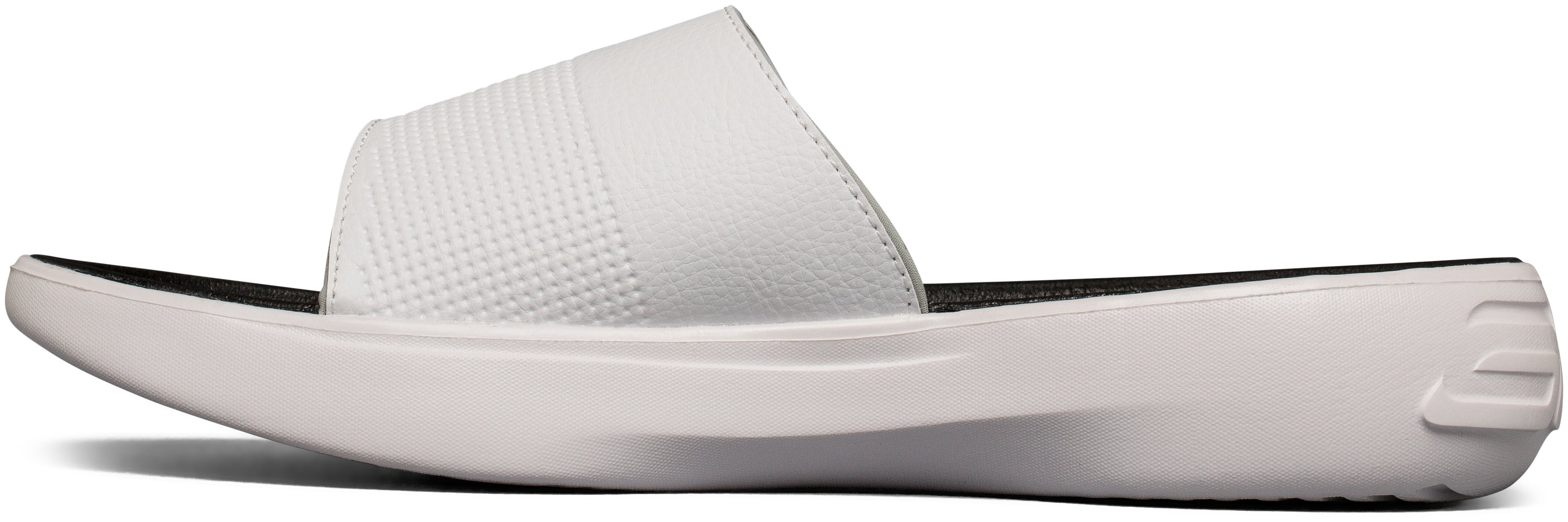 Men's UA Curry 3 Slides, White, undefined