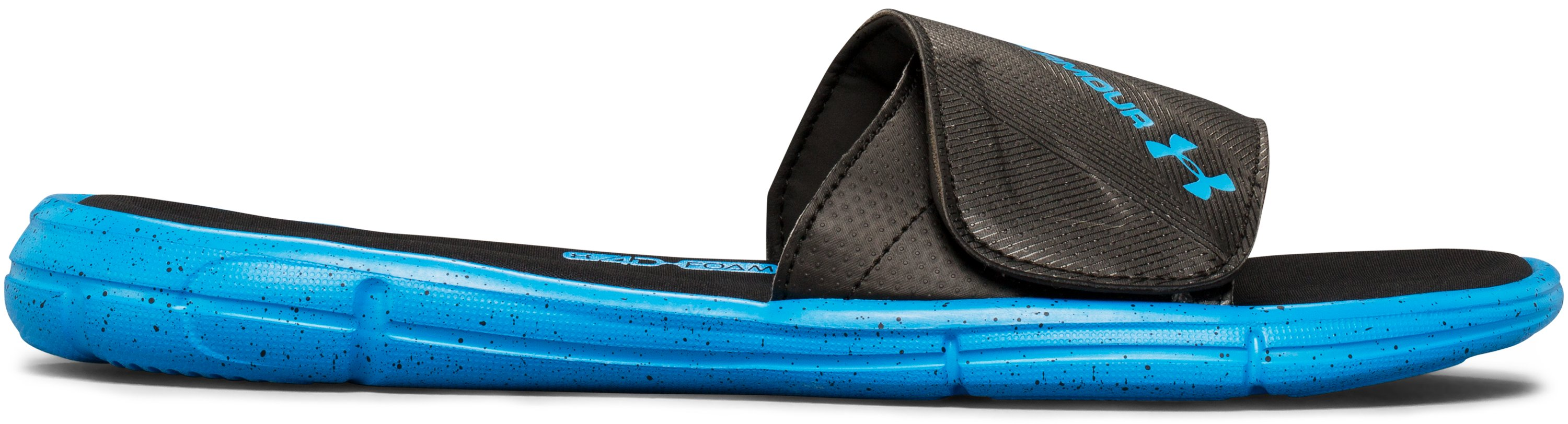 Men's UA Ignite Water Friendly Slides, Black