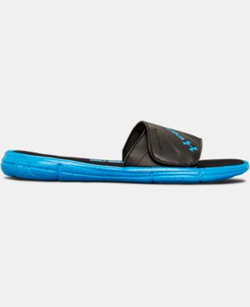 Men's UA Ignite Water Friendly Slides  1 Color $44.99