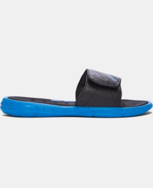 New Arrival Boys' UA Ignite Water Friendly Slides  2 Colors $37.99