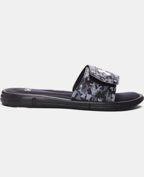 New Arrival Men's UA Ignite Deception V Slides LIMITED TIME: FREE U.S. SHIPPING 1 Color $37.99