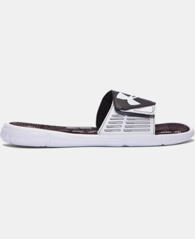 Men's UA Mercenary VIII Slides  1 Color $29.99