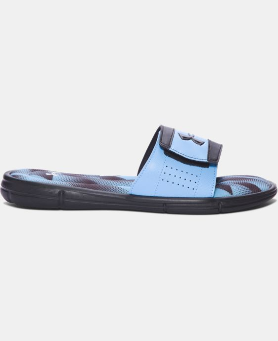 Men's UA Ignite Banshee III Slides  1 Color $37.99