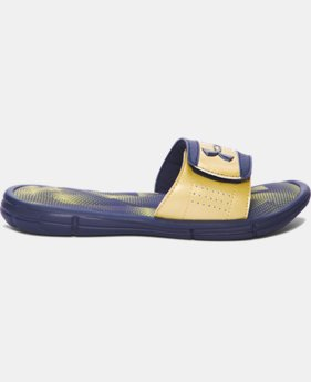 New Arrival Boys' UA Ignite Banshee III Slides  4 Colors $31.99