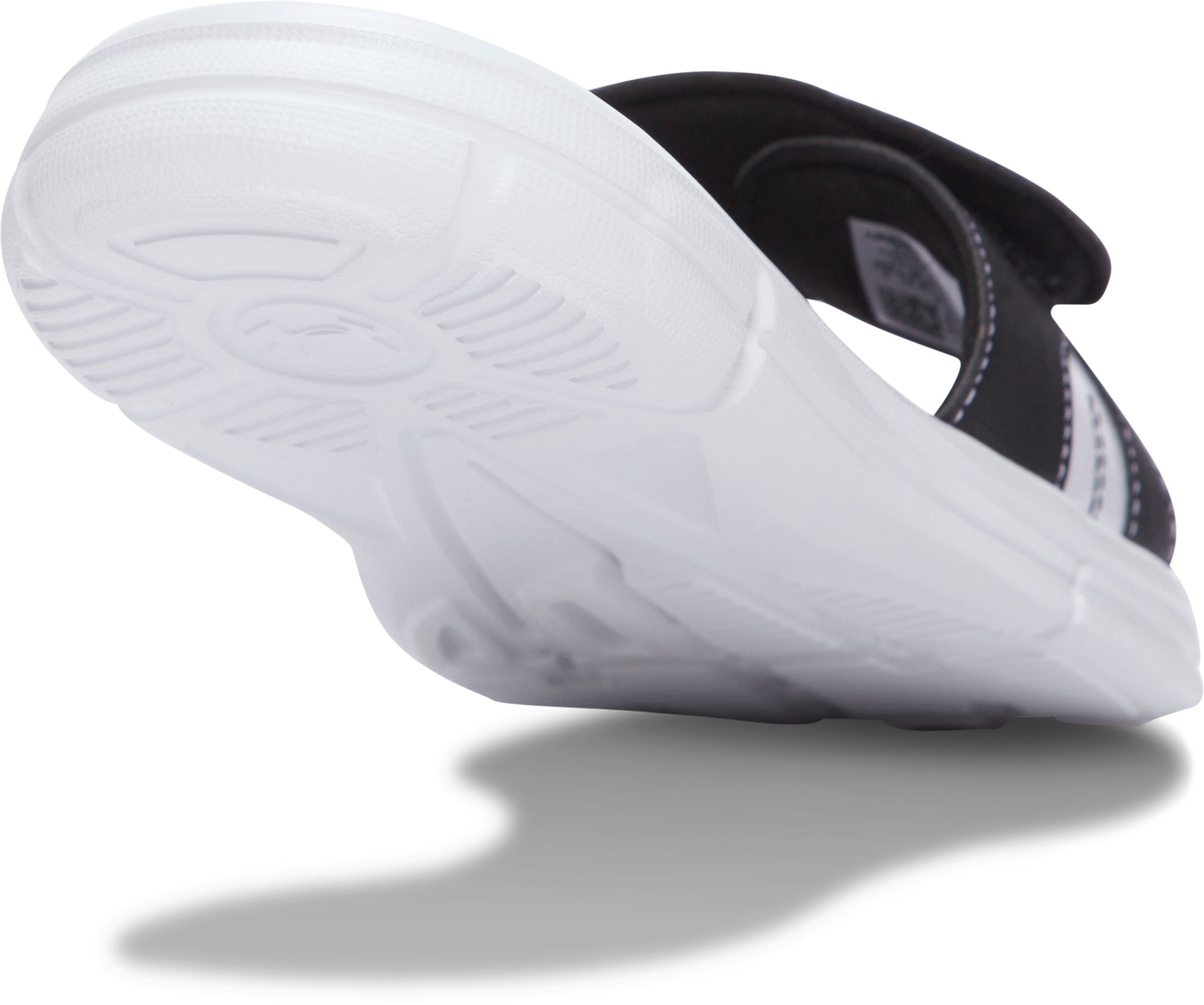 Women's UA Ignite Finisher VIII Slides, GLACIER GRAY, undefined