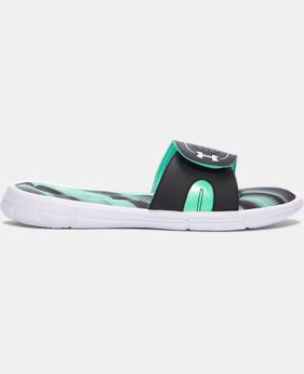 Women's UA Ignite Finisher VIII Slides  1  Color $27.99