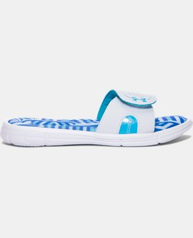 Women's UA Ignite Maze VIII Slides  1 Color $34.99