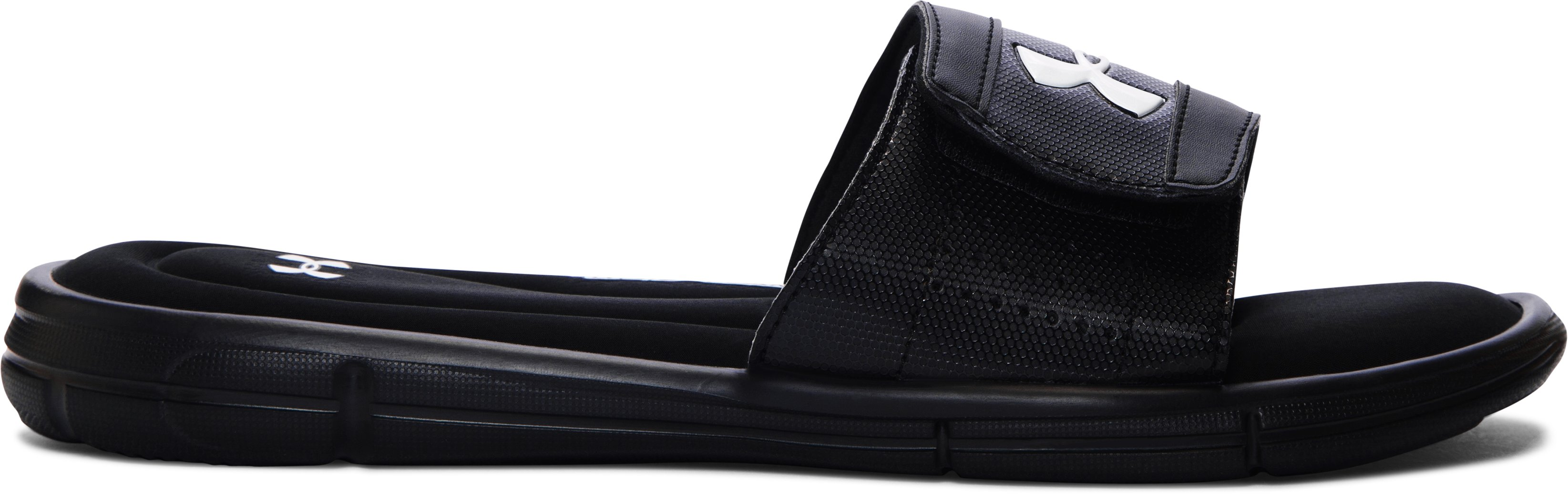 Men's UA Ignite V Slides, Black