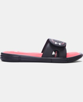 New to Outlet Women's UA Ignite VII Slides  1 Color $19.99 to $23.99