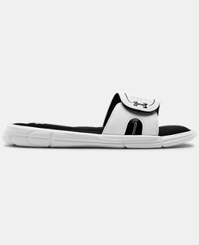 Women's UA Ignite VIII Slides  1  Color Available $34.99