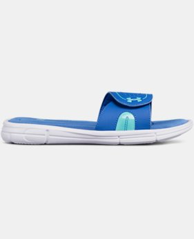 Women's UA Ignite VII Slides  1 Color $31.99