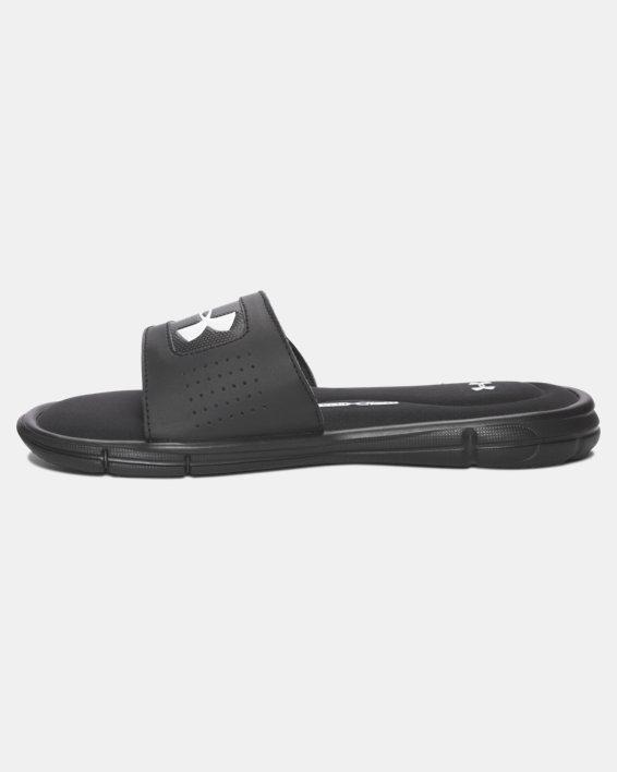 Boys' UA Ignite V Slides, Black, pdpMainDesktop image number 1