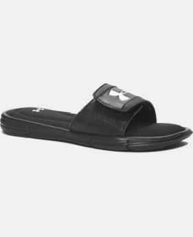 Boys' UA Ignite V Slides  1 Color $34.99