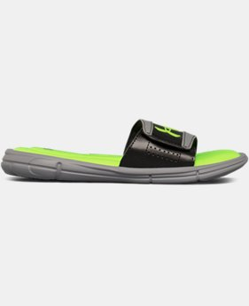 Boys' UA Ignite V Slides  1 Color $22.99