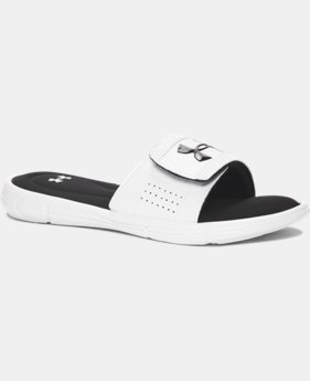 New Arrival Boys' UA Ignite V Slides   $29.99
