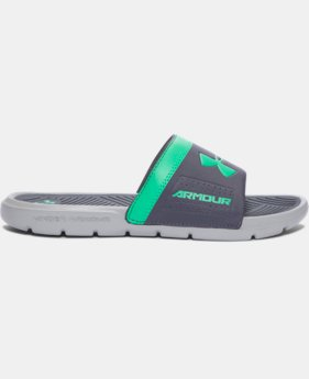 Boys' UA Playmaker VI Slides  1 Color $18.99