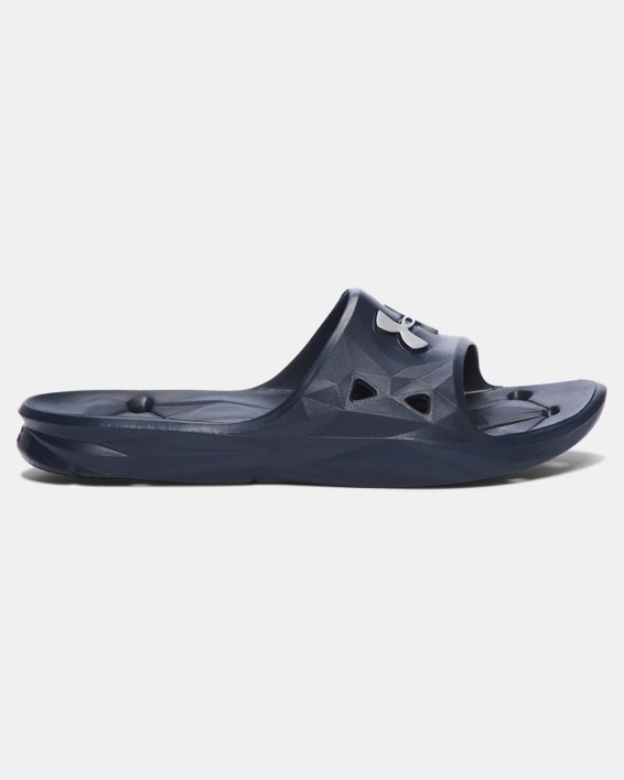 Men's UA Locker III Slides, Navy, pdpMainDesktop image number 0