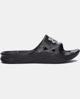 New Arrival Boys' UA Locker III Slides  1 Color $19.99
