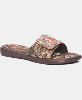 Men's UA Ignite Camo V Slides  1 Color $23.99