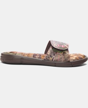 Women's UA Ignite Camo VII Slides  1 Color $20.99