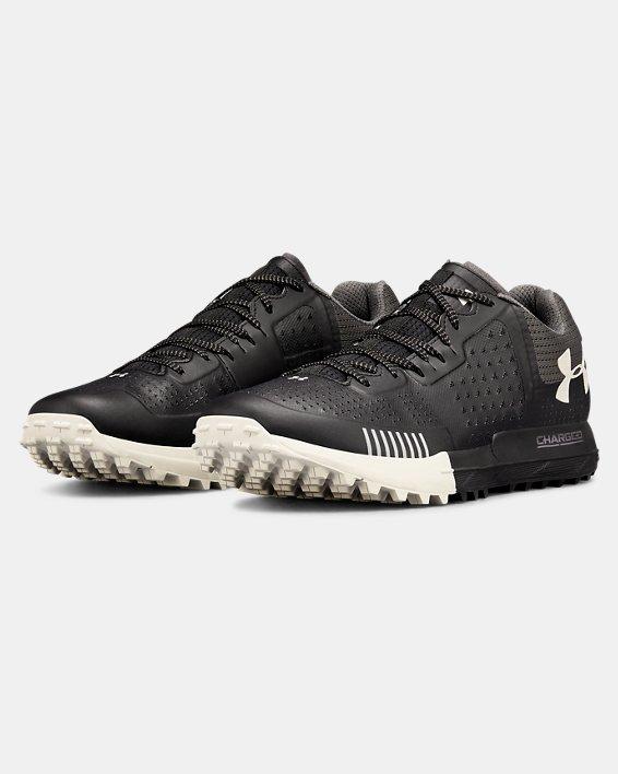 Men's UA Horizon RTT Trail Running Shoes, Black, pdpMainDesktop image number 4
