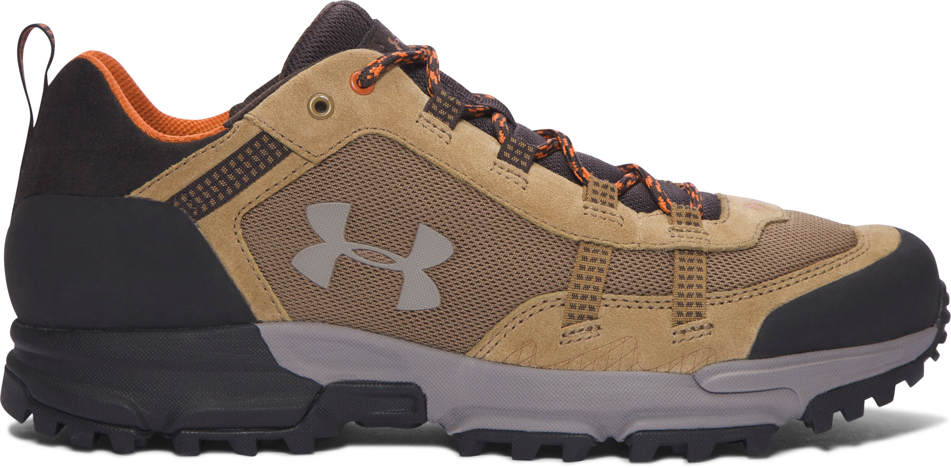 Men's UA Post Canyon Low Hiking Boots, Saddle