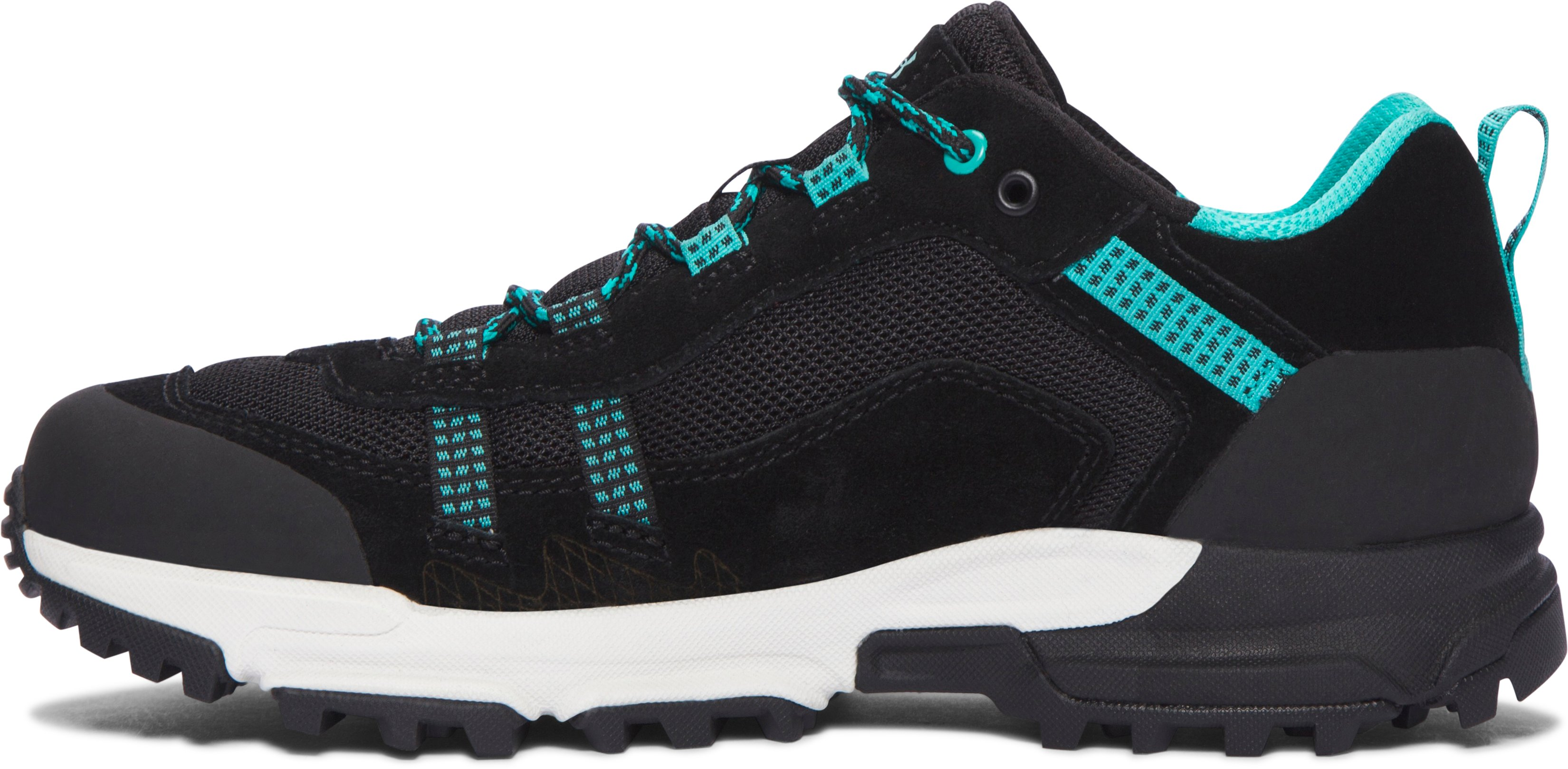 Women's UA Post Canyon Low Hiking Boots, Black ,
