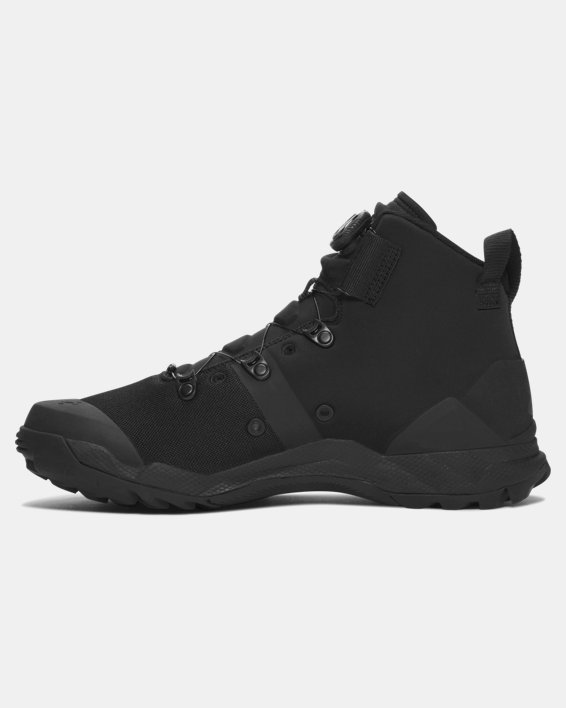 Men's UA Infil Tactical Boots, Black, pdpMainDesktop image number 1