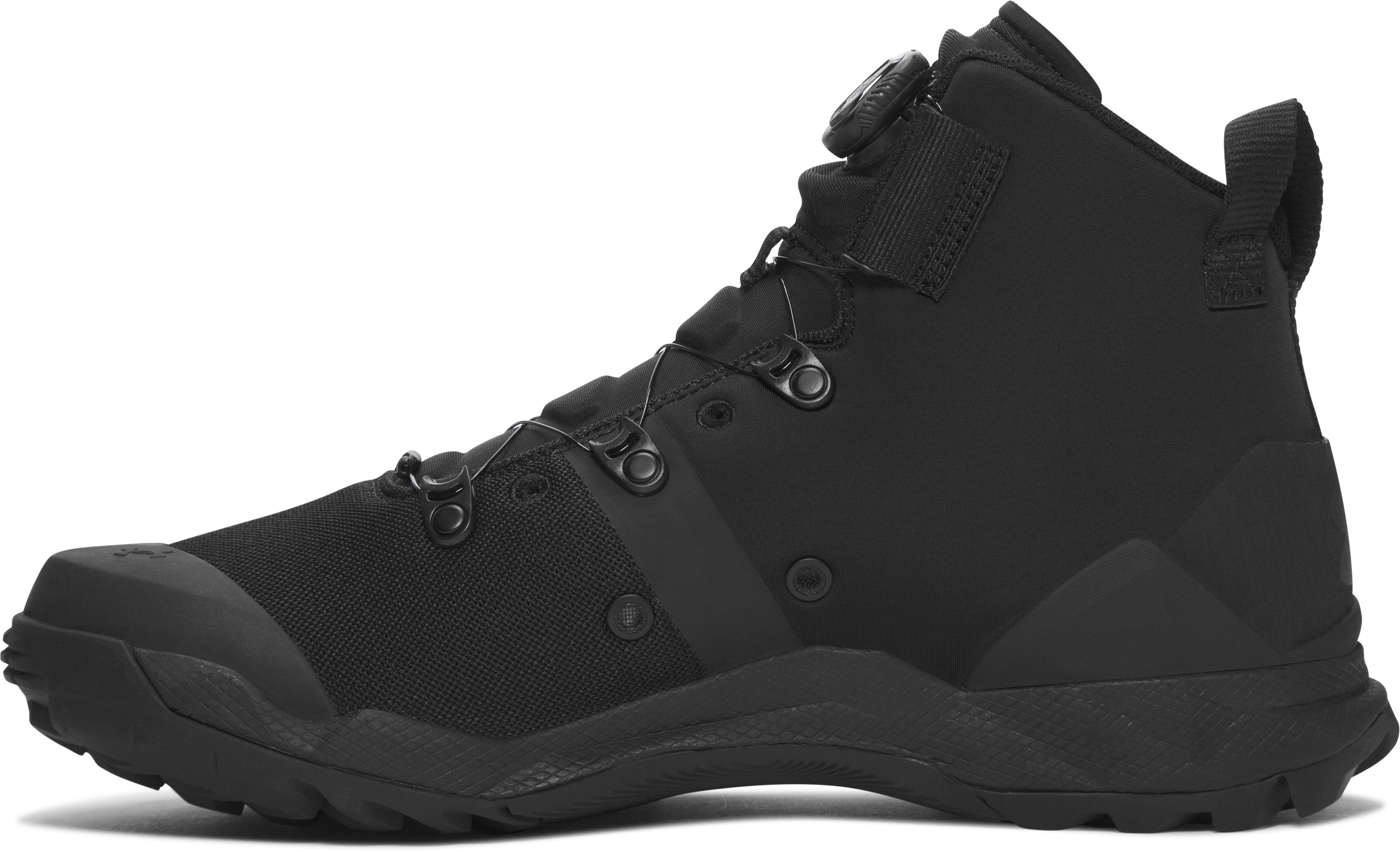 Men's UA Infil Tactical Boots, Black ,