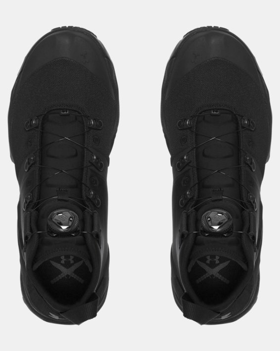 Men's UA Infil Tactical Boots, Black, pdpMainDesktop image number 4