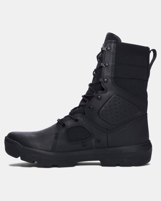 Men's UA FNP Tactical Boots, Black, pdpMainDesktop image number 1