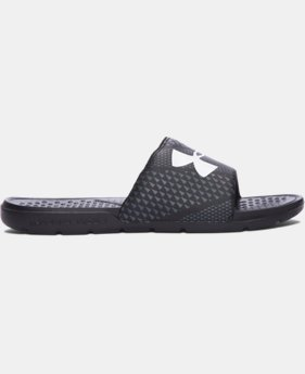New Arrival  Men's UA Strike Micro Geo Slides  1 Color $24.99