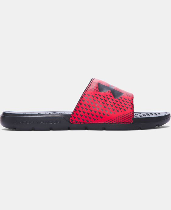 Men's UA Strike Micro Geo Slides  2 Colors $24.99
