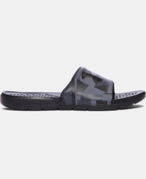 New Arrival Men's UA Strike Splice Slides  1 Color $24.99