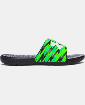 Boys' UA Strike Flash Slides  1 Color $18.74