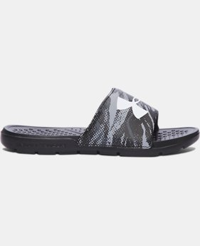 Boys' UA Strike Blend Slides  1 Color $29.56