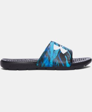Boys' UA Strike Blend Slides  1 Color $24.99
