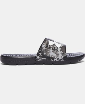 Girls' UA Strike Floral Slides  1 Color $24.99