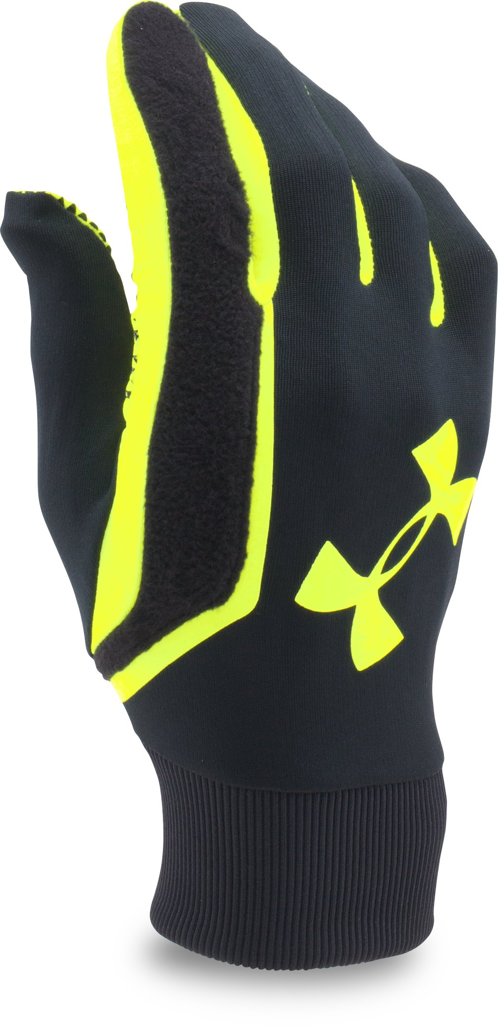 Men's UA Field Players Glove, Black , zoomed image