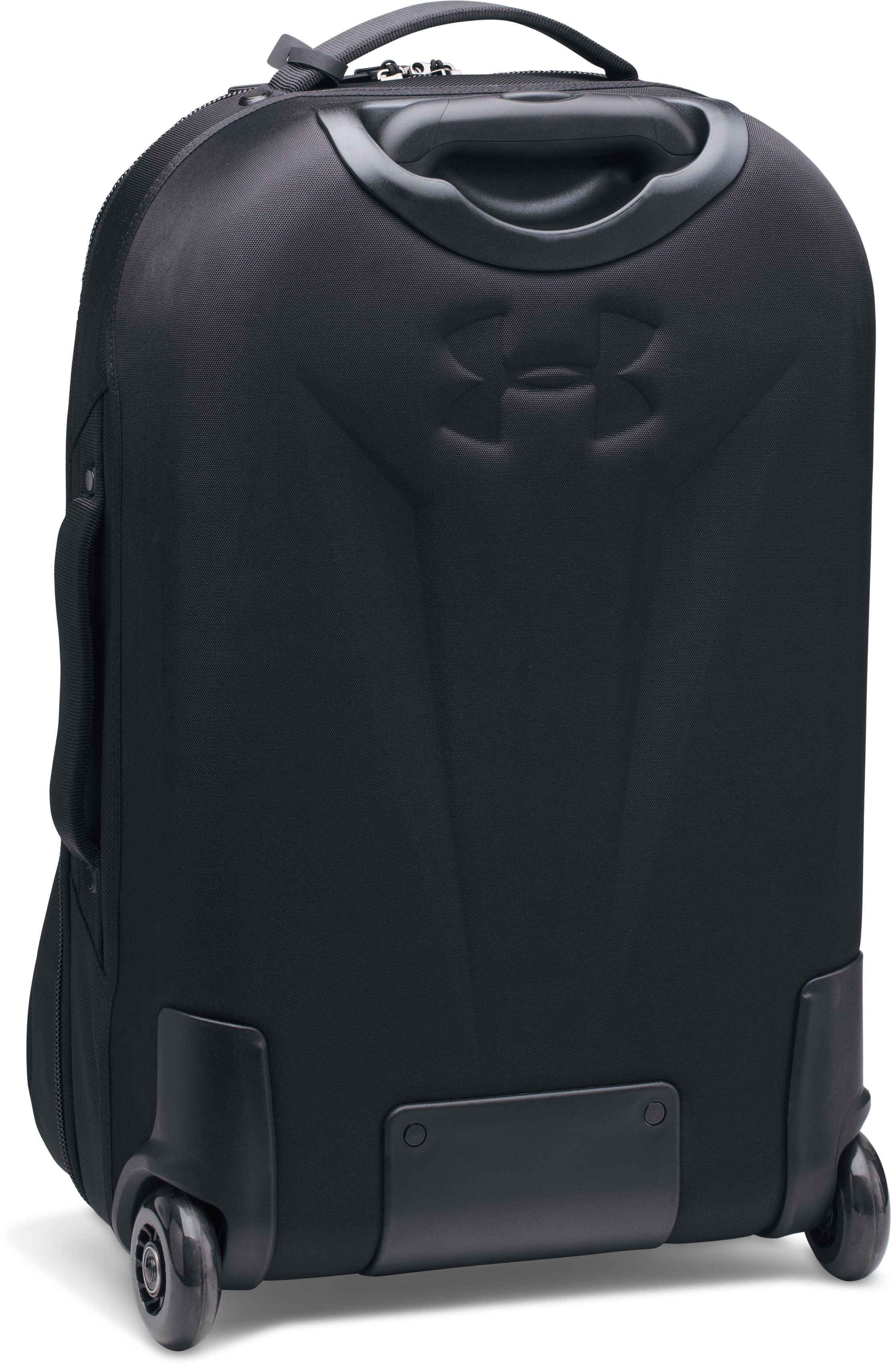 UA Carry-On Rolling Suitcase, Black ,