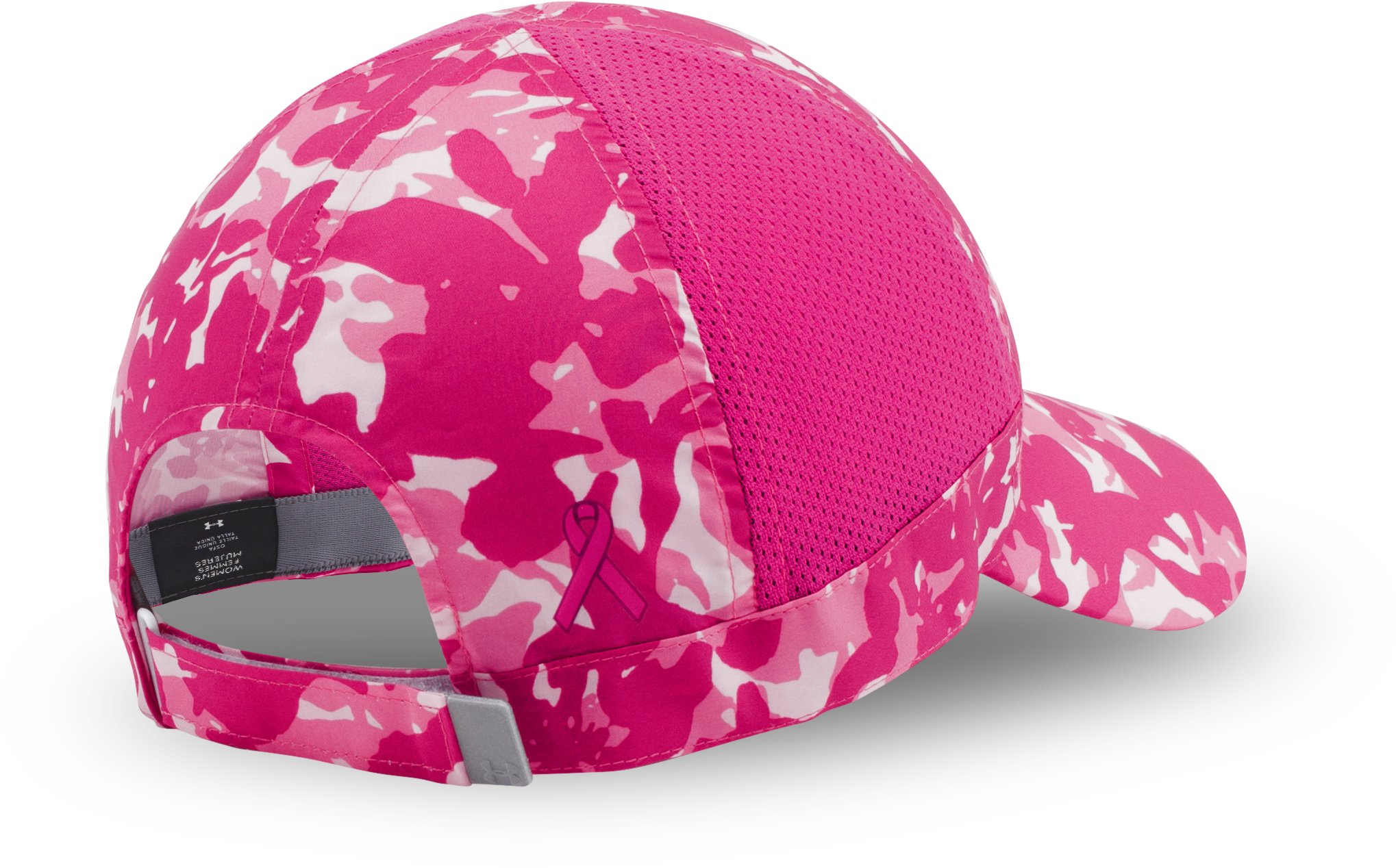 Women's UA Power In Pink® Fly Fast Cap, Tropic Pink, undefined